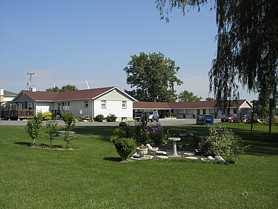 Front View from Road